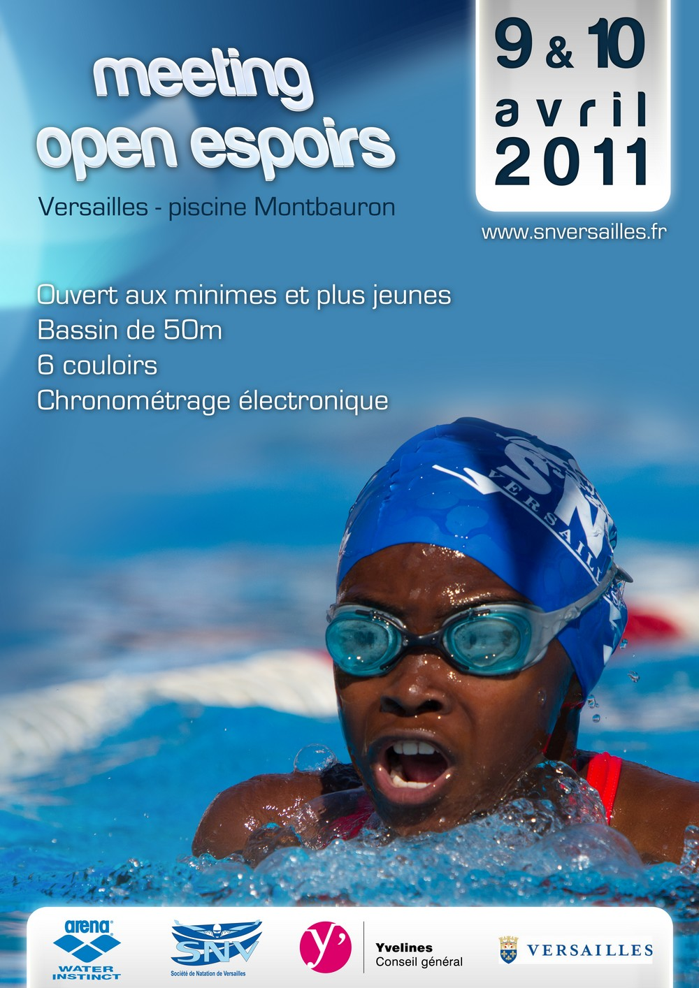 affiche meeting open espoirs 2011
